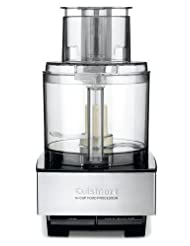 Cuisinart DFP-14BCN 14-Cup Food Processor, Brushed Stainless Steel by Cuisinart