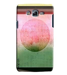 Blue Throat Old Stipes Patternprinted Designer Back Cover/ Case For Samsung Galaxy J7 2016