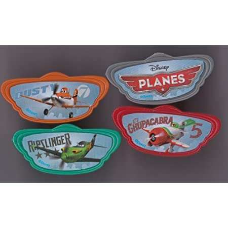 Includes 12 Disney's Planes Cupcake Rings