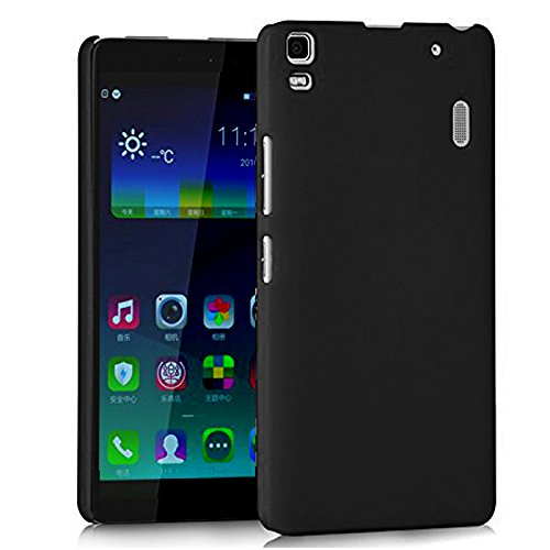 Premium Rubberized Hard Back Cover / Case for Lenovo K3 Note (Black)