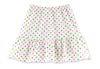 Buy Chez Ami by Patsy Aiken Designs Ruffle Tennis Skort White Multi Dot Girls Sizes 4-16 by Patsy Aiken Designs