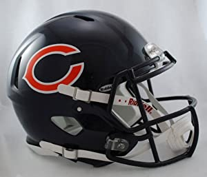 NFL Chicago Bears Speed Authentic Football Helmet by Riddell