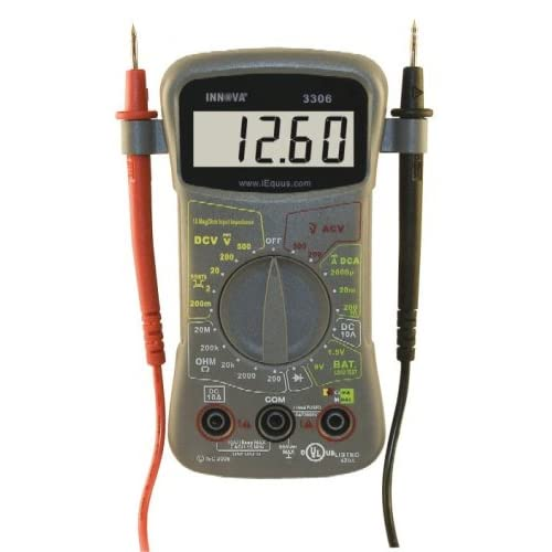 Amazon.com: Innova 3306 10 MegOhm Hands-Free Digital Multimeter