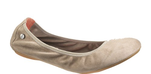 Hush Puppies Women'S Chaste Ballet Flat,Taupe,12 M Us