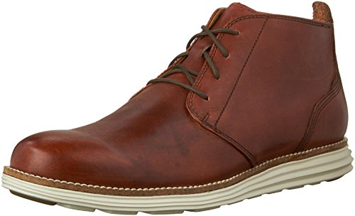 Cole Haan Men's Original Grand Chukka Boot, Woodbury/Ivory, 9.5 M US (Cole Haan Boots Men Brown compare prices)