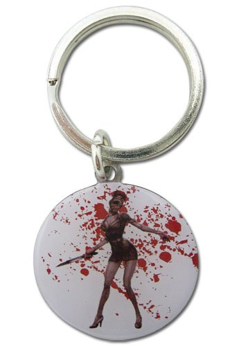 Silent Hill Homecoming Nurse Metal Keychain