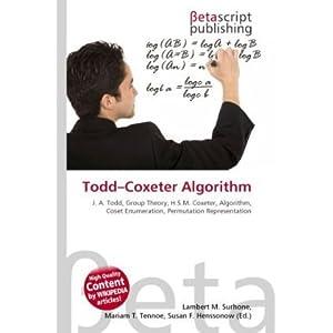 Todd Coxeter Algorithm | RM.