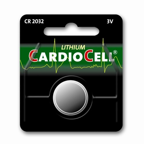 CARDIOCELL Batterie CR2032 3 V Lithium 1er Blister