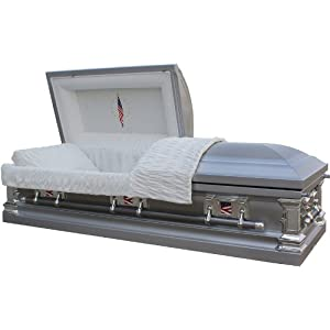 Casket 8950 - Military Stainless Steel Casket Best Price Casket