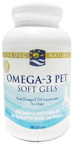 Nordic Naturals - Omega-3 Pet For Dogs - 180 Softgels