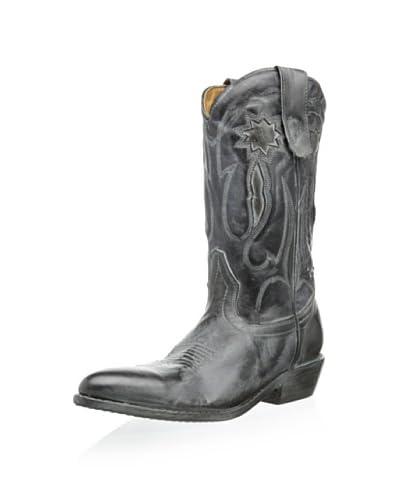 bed|stu Women's Mirasol Cowboy Boot  [Black Teak Rustic Oxidized Bfs]