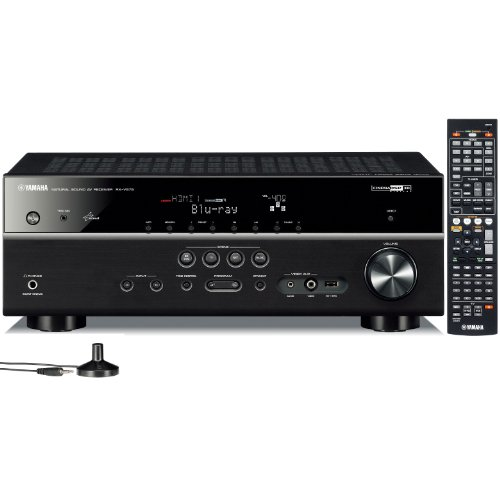 Yamaha RX-V575 7.2-Channel Network AV Receiver with Airplay