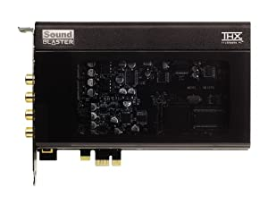 Creative Sound Blaster X-Fi Titanium HD Internal Sound Card with THX SB1270 70SB127000002