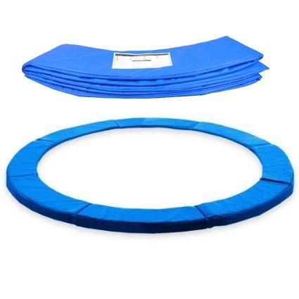 BPS Federabdeckung Randschutz Randabdeckung für Trampolin 305cm Durchmesse, blau PVC - UV beständig, passend für 300cm - 305cm ¡
