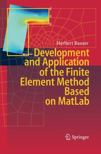 Download Development and Application of the Finite Element Method based on MatLab