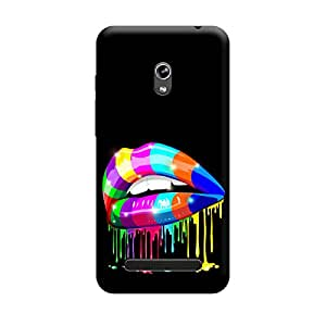 CaseLite Premium Printed Mobile Back Case Cover With Full protection For Asus Zenfone 5 (Designer Case)