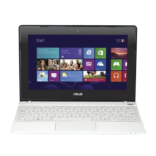 ASUS X102BA 10.1-inch Touchscreen Notebook (White) - (AMD A4 1200 1.0GHz Processor, 4GB RAM, 500GB HDD, LAN, WLAN...