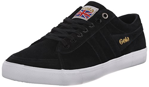 Gola Men's Comet Mono Fashion Sneaker, Black, 13 M US