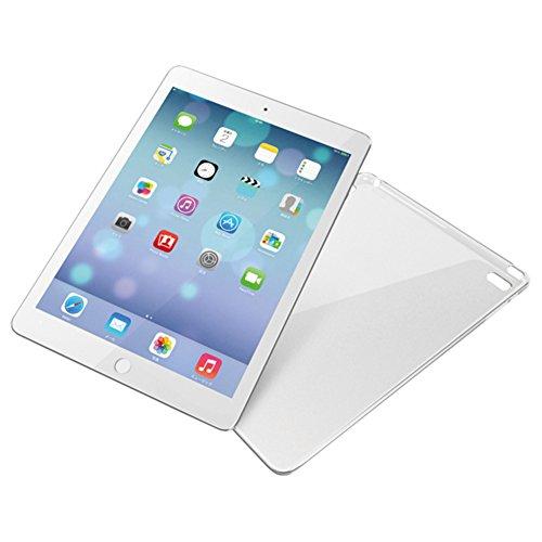 iBUFFALO iPad Air 2 (2014年) イージーハードケース 保護フィルム付 クリア BSIPD14HCR 【着脱簡単割れにくい 何もつけていないような透明感 クラリティ採用】