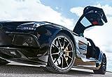 ポスター A4 パターンB 世界のスーパーカー「 メルセデス・ベンツ SLS AMG Black Series」光沢プリント