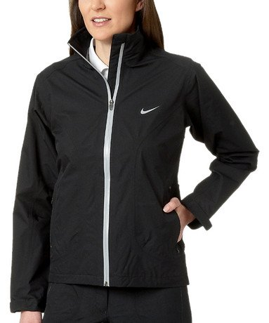nike golf damen regenjacke storm fit paclite jacket. Black Bedroom Furniture Sets. Home Design Ideas