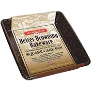 Columbian Home Prod. F0624-4 Better Browning Cake Pan-BETTER BROWNING SQ PAN