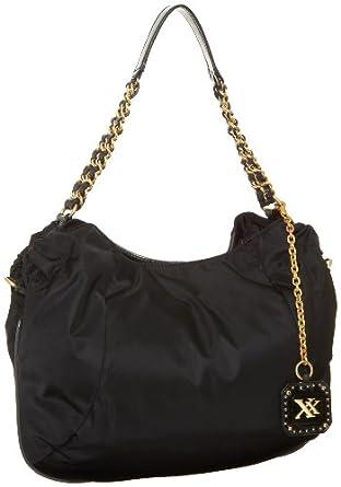 MAXX NEW YORK Spencer Chain Hobo,Black,one size