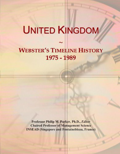 United Kingdom: Webster's Timeline History, 1975 - 1989