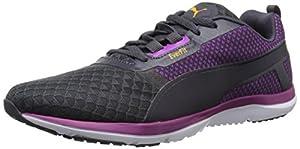 PUMA Women's Pulse Flex XT Core Running Sneaker, Periscope/Purple Cactus, 8 B US