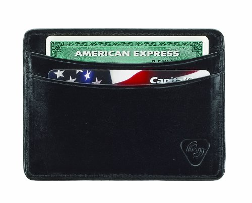 lewis-n-clark-rfid-leather-card-holder-black-one-size