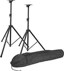 On Stage SSP7850 Pro Speaker Stand Set by Music People