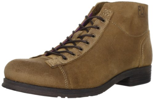 Fly London Mens Orme Boston Boots P142778001 Tan 12 UK, 46 EU