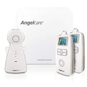 Angelcare AC403-2P Movement & Sound Monitor