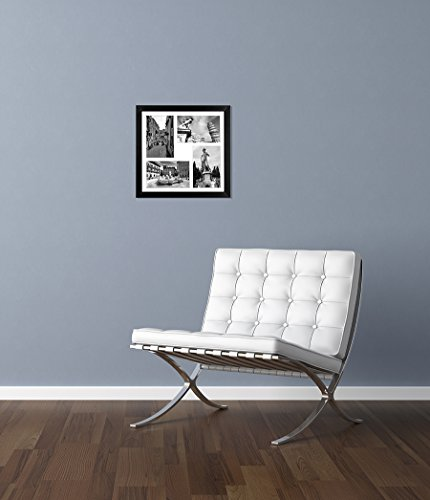 Collage Picture Frame Displays Four 4x6 Inch Photos Two