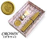 CIELO Sealing Wax Set シーリングワックスセット [封蝋 ふうろう]  クラウン/ゴールド