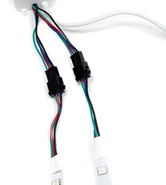 1 M VERLÄNGERUNGSKABEL FÜR RGB-LED GLASKANTENBELEUCHTUNG GLASBODENBELEUCHTUNG