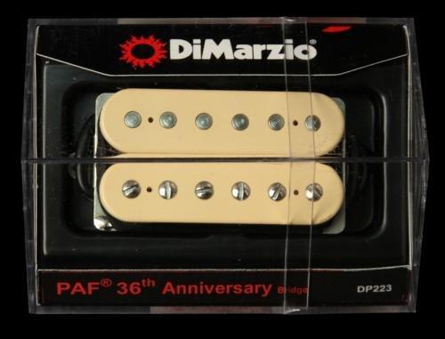 dimarzio dp223 paf bridge humbucker 36th anniversary electric guitar pickup creme regular. Black Bedroom Furniture Sets. Home Design Ideas