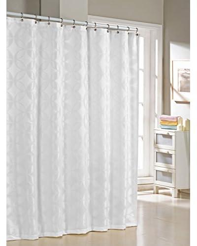 Duck River Textile Bayonne Shower Curtain, White