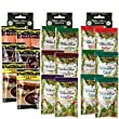 3 Boxes (18 Packets): Walden Farms Salad Dressing 1 Oz Packets (Assorted Flavor) Thank you for using our service