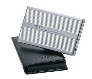 TrekStor DataStation pocket x.u 80 GB externe Festplatte (6,4 cm (2,5 Zoll), 15 ms, 8 MB Cache, USB 2.0) silber