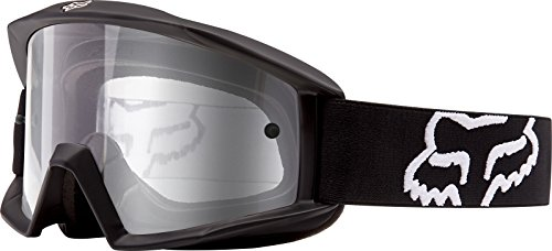 Fox Main Motocross MX MTB Goggles - Matte Black / Clear