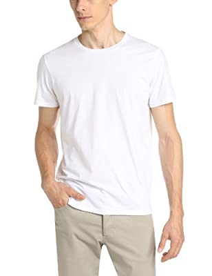 Theory Men's Marcelo Stay Tee, White, X-Large