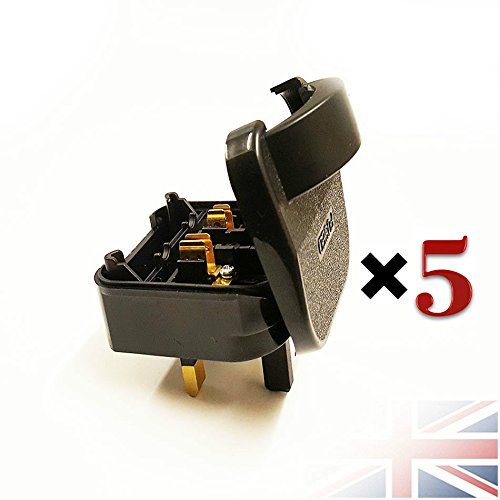 5-pack-euro-plug-converter-2-pin-to-3-pin-schuko-scp-plug-fused-uk-main-13a-adaptor-black-uk-euro-uk