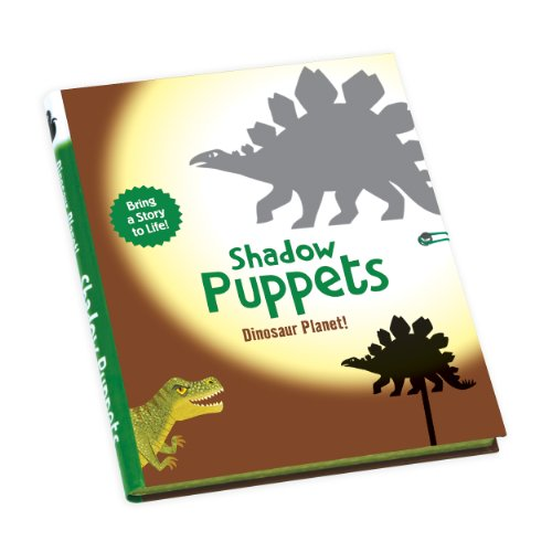 Mudpuppy Dinosaur Planet! Shadow Puppets