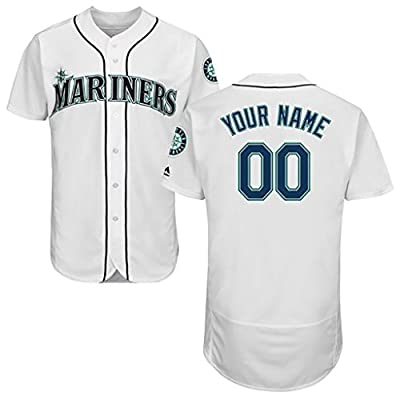 Generic Seattle Mariners Personalized White Jerseys