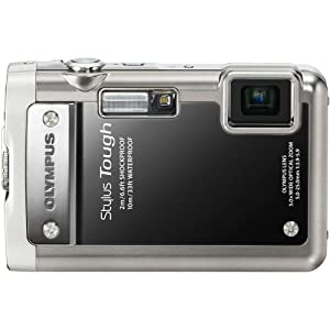 Olympus Stylus Tough 8010 14MP Digital Camera with 5x Wide Angle Zoom and 2.7 inch LCD