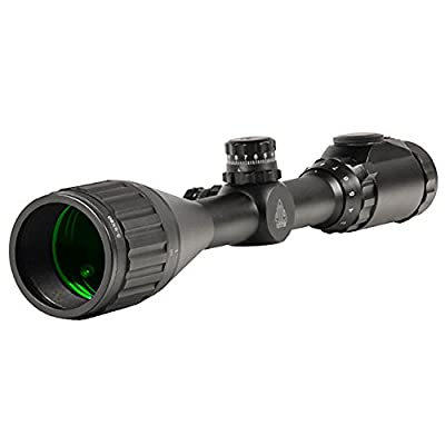 """UTG 3-9X50 1"""" Hunter Scope, AO, 36-color Mil-dot, w/ Rings by Leapers, Inc."""