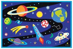 Out Of This World Rug OLIVE KIDS 39 x 58 Area Rug