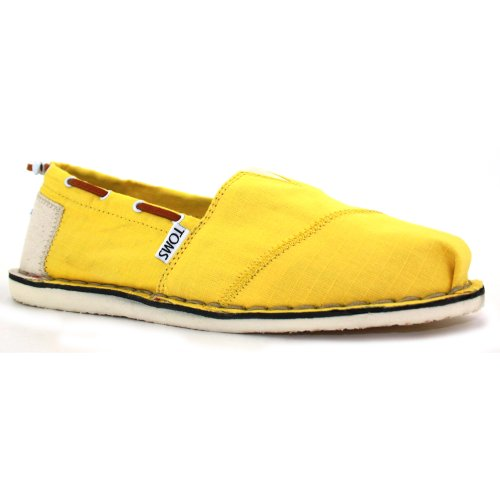 Toms Stitchout Bimini New Women slipons Yellow 3 UK