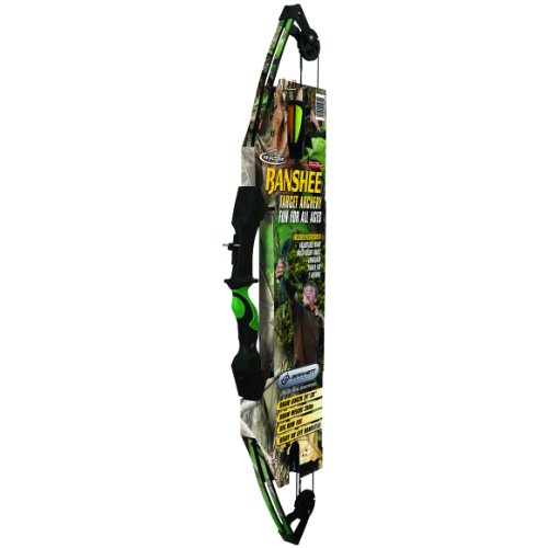 Barnett Outdoors Team Realtree Banshee Quad Youth Compound Bow Archery Set